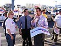 Edwards Supporter James Denton at UNLV Debate (2040573191).jpg
