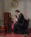 Eerste pianoles door Jozef Hoevenaar.jpg