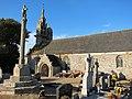 Eglise Treduder Beaumanoir clocher calvaire cimetière 0204.jpg