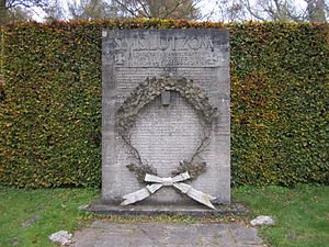 SMS Lützow - Memorial in Wilhelmshaven for the sailors killed aboard Lützow