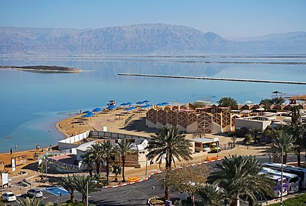 Ein Bokek resort on the shore of the Dead Sea Ein Bokek - Dead Sea2.jpg