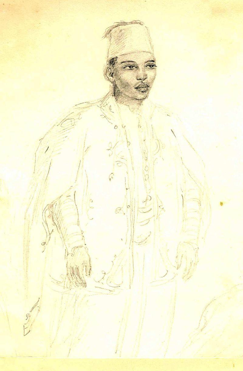 Ekaterine Dadiani's salon album. Zugdidi, 28th century.jpg