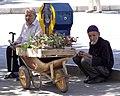 Elderly Men at Streetside - Qazvin - Northwestern Iran (7414172716).jpg