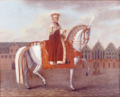 Elector Clemens Wenzeslaus Riding in front of the Frankfurt Römer.png