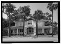 Elevation view - Villa Las Palmas, 315 Alachua Avenue, Fernandina Beach, Nassau County, FL HABS FLA,45-FERB,9-2.tif