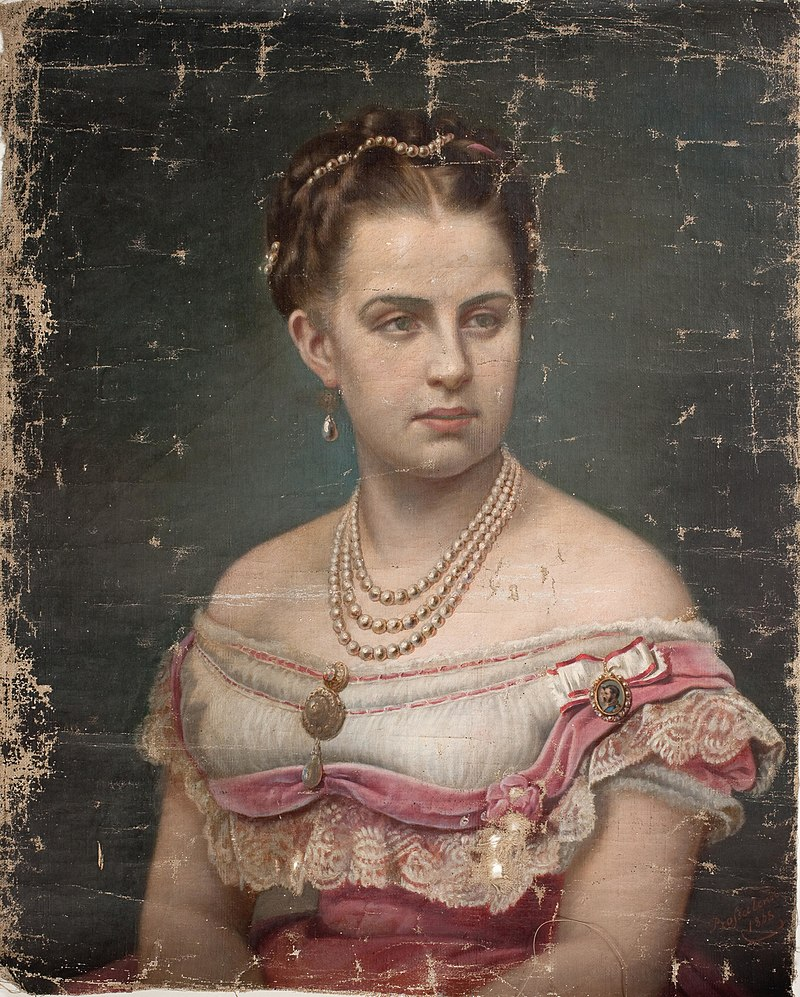 Элизабет Иерихау Бауманн - королева Греции Ольга - KMS8604 - Statens Museum for Kunst.jpg