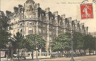 H Tel Lys E Palace Paris Wikip Dia