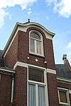 emmakade 8, maria louisastraat 2, detail dak