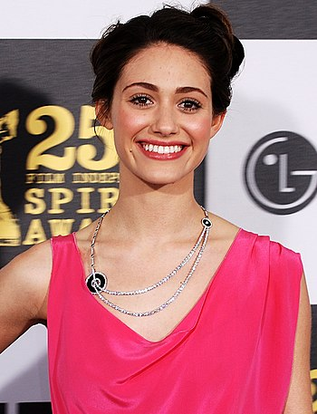 English: Actress Emmy Rossum at the 2010 Indep...