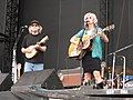 Emmylou Harris - Buddy Miller June 14, 2003.jpg