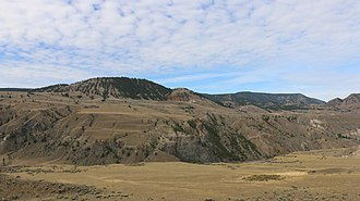 Churn Creek Protected Area - Image: Empire Valley Road