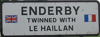 Enderby, Leicestershire - Enderby is twinned with Le Haillan.