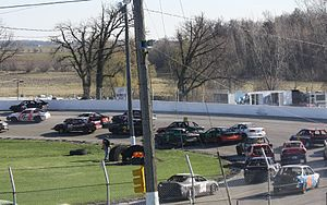 Enduro race - 4 cylinder cars racing in the Impact Survival Series
