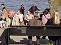 Enjoying the Sun along the Rhine River - Köln (Cologne) - Germany.jpg