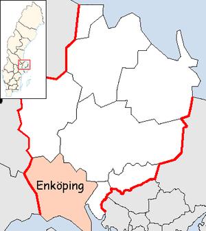 Enköping Municipality - Image: Enköping Municipality in Uppsala County