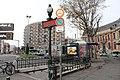 Entrée Métro Mairie St Ouen St Ouen Seine St Denis 3.jpg