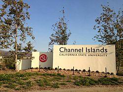 Channel Islands University Map