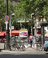 Entrance to the Métro at Place Victor Hugo, Paris 2012.jpg