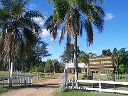 Entry to Stict Natural Reserve Colonia Benítez.jpg