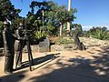 Ephraim Morse, Alonzo Horton, and George White Marston statues; Founders Plaza, Balboa Park, San Diego, California.jpg
