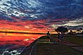 Epic sunrise , swan river , perth ,western australia.jpg