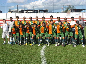 Villa Rio Esporte Clube - Team photo from the 2010 season