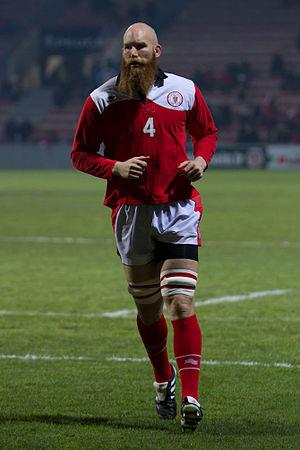 Erik Lund (rugby union) - Image: Erik Lund 2013 01 25 01
