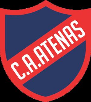 Atenas de San Carlos - Image: Escudo Club Atlético Atenas