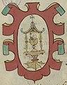 Escudo da Galiza no Nobiliario de los Grandes y Titulos de España (séc. XVII).jpg