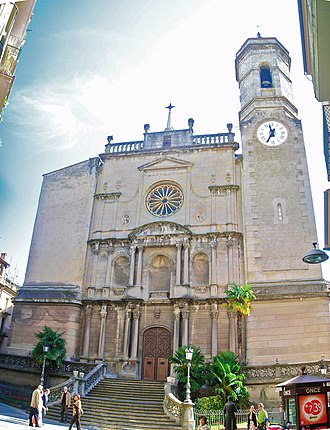 Olot - Sant Esteve Parish Church.