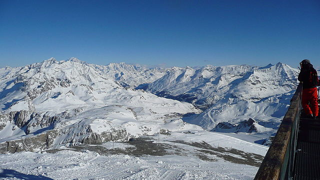 Skiing in France is an experience you will never forget, as this view of L'Espace Killy shows.