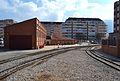 Estació de tren de Dénia, accés de les vies.JPG