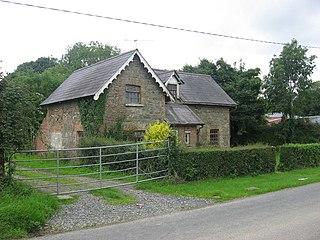 Drumcar Village in Leinster, Ireland