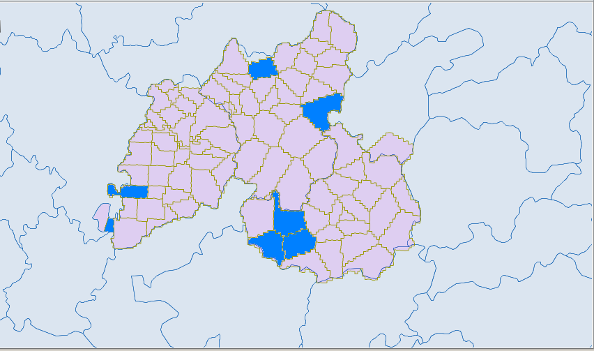 Ethnic townships in South-Eastern Hunan