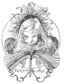 Ett hem Carl Larsson svartvit teckning 01.png
