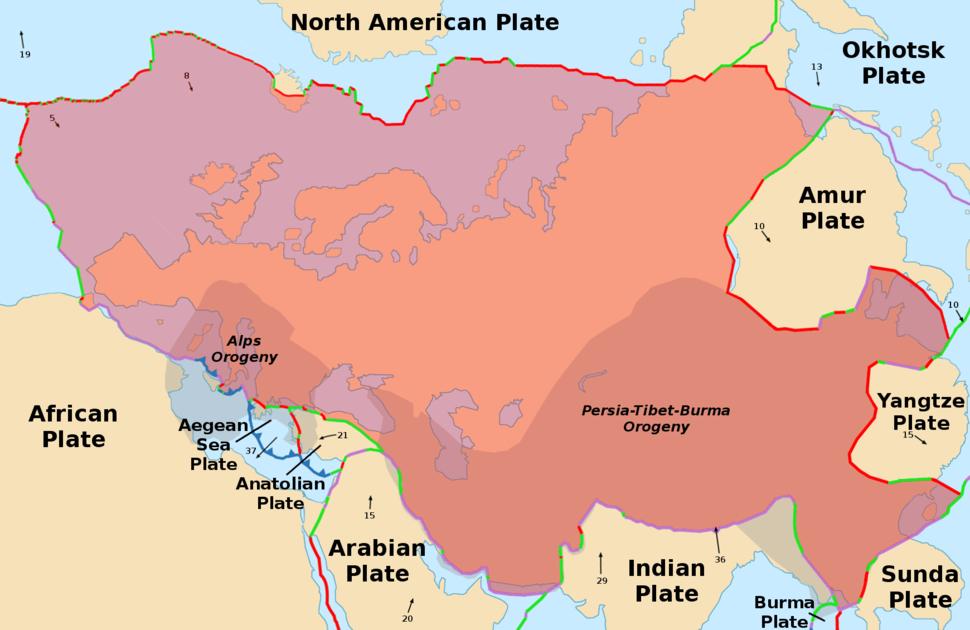 The Eurasian Plate