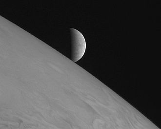 Planetary Science Decadal Survey - Jupiter and Europa as viewed by New Horizons in 2007