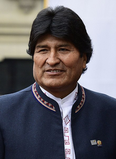 "The Bolivian government of left-wing populist Evo Morales and his Movement for Socialism has been described as the ""prototypical case"" of ethnopopulism. Evo Morales 2017.jpg"