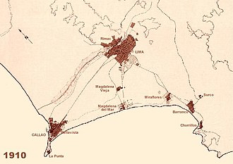Demographics of Lima - Image: Evoluciondelima 1910
