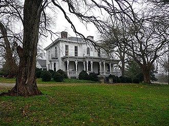 Richard S. Ewell - Ewell Farm near Spring Hill, Tennessee, 2009