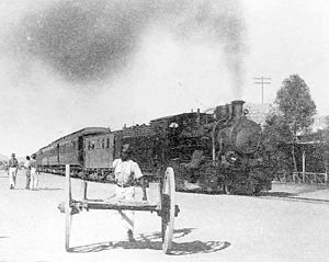 South West African 2-8-0 - Image: Ex DSWA 2 8 0 1925