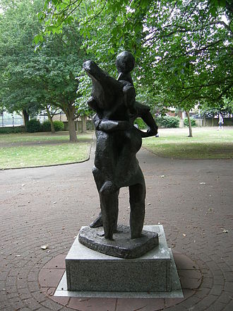 Putney Sculpture Trail - Image: Exodus Sculpture