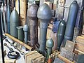Explosive device , Ben Junier ammo collection at the Overloon War Museum pic5.JPG