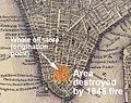 Extent of Great New York City Fire of 1845.jpg