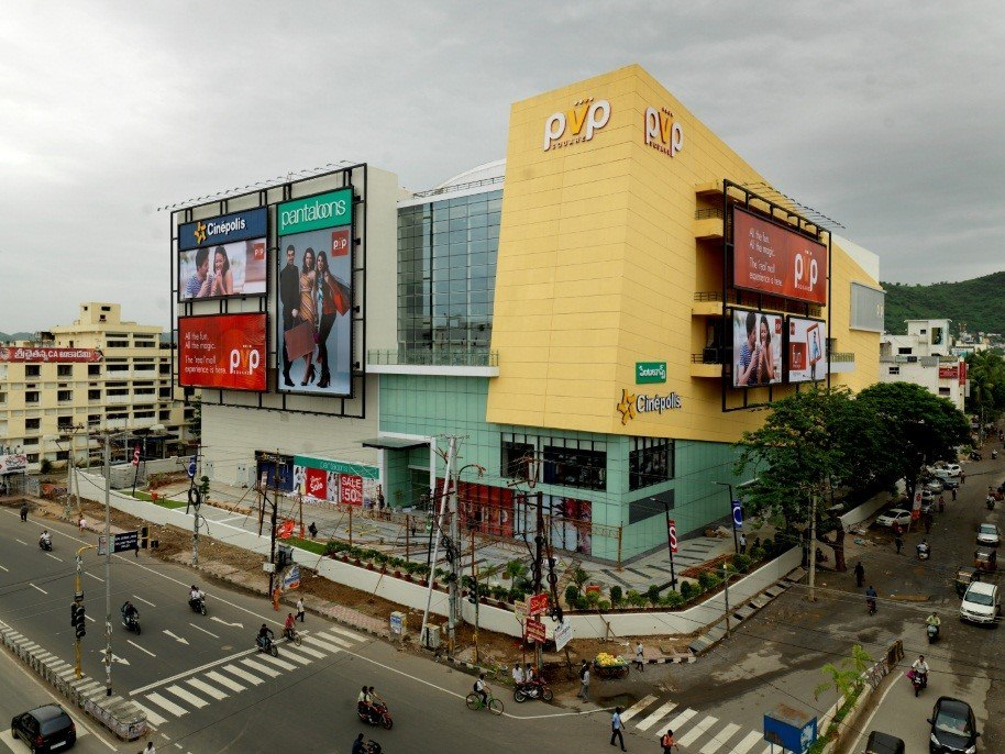 Exterior View of Mall