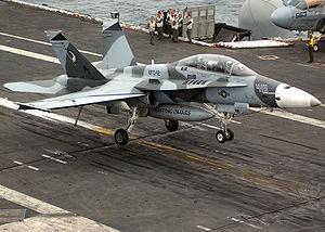 VFC-12 - Image: F 18B VFC 12 CVN 76 2005