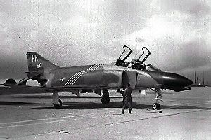 480th Fighter Squadron - A 480th TFS F-4D at Phu Cat AB