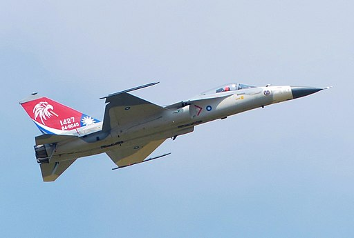 F-CK-1A 1427 Flight Demonstration in Ching Chuang Kang AFB 20140719e