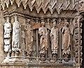 F3392 Reims cathedrale portail gauche statues rwk.jpg
