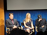 File:FRINGE On Stage @ the Paley Center - John Noble, Anna Torv, Akiva Goldsman (5741151579).jpg